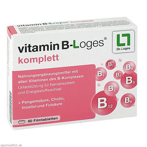 vitamin B-Loges komplett, 60 ST, Dr. Loges + Co. GmbH