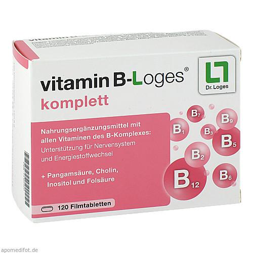 vitamin B-Loges komplett, 120 ST, Dr. Loges + Co. GmbH