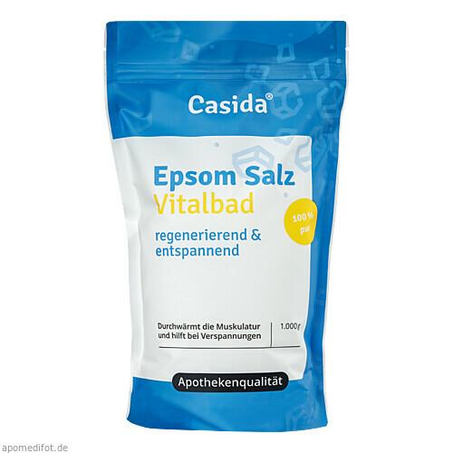 Epsom Salz Vitalbad, 1 KG, Casida GmbH & Co. KG