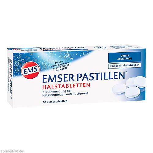 EMSER Pastillen ohne Menthol, 30 ST, SIEMENS & Co