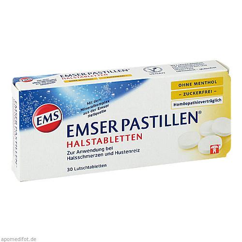 Emser Pastillen ohne Menthol zuckerfrei, 30 ST, Siemens & Co