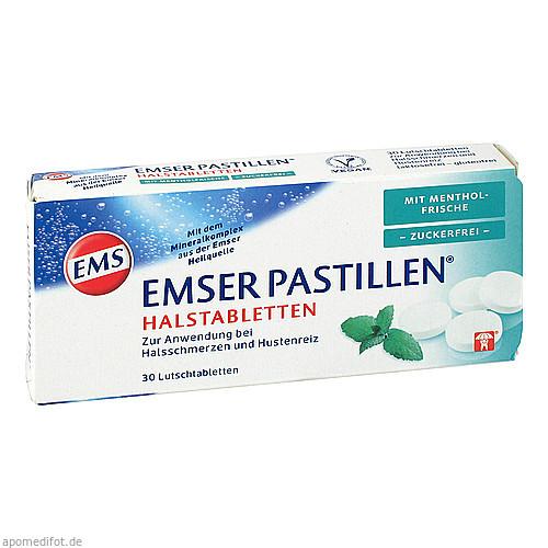 Emser Pastillen mit Mentholfrische zuckerfrei, 30 ST, Siemens & Co