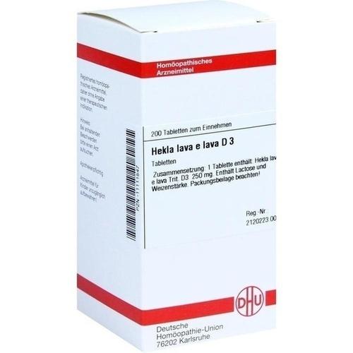 HEKLA LAVA e lava D 3, 200 ST, Dhu-Arzneimittel GmbH & Co. KG