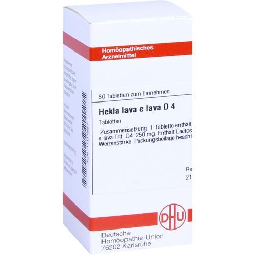 HEKLA LAVA e lava D 4, 80 ST, Dhu-Arzneimittel GmbH & Co. KG