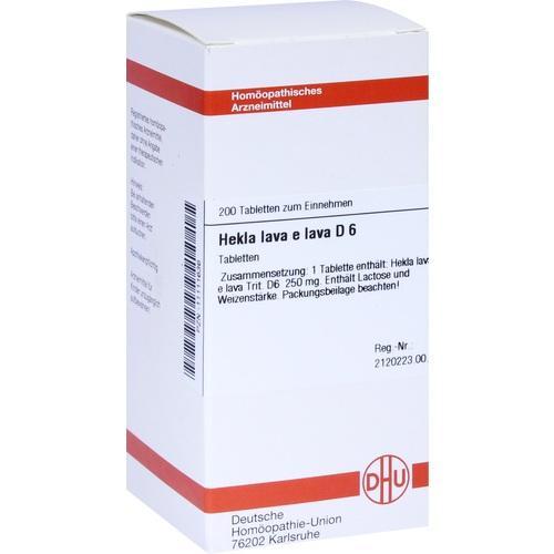 HEKLA LAVA e lava D 6, 200 ST, Dhu-Arzneimittel GmbH & Co. KG