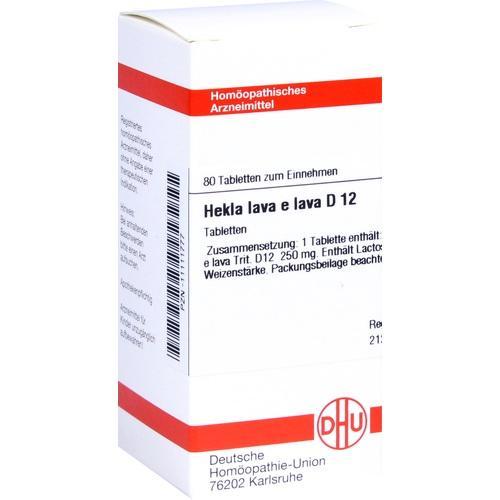 HEKLA LAVA e lava D12, 80 ST, Dhu-Arzneimittel GmbH & Co. KG