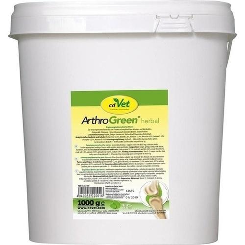 ArthroGreen herbal vet, 1 KG, cdVet Naturprodukte GmbH
