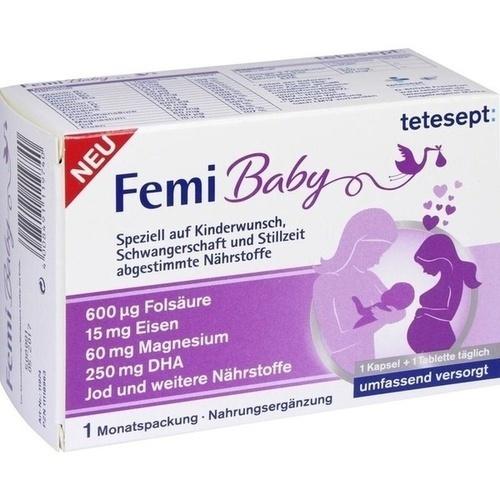 tetesept Femi Baby Filmtabletten + Weichkapseln, 2X30 ST, Merz Consumer Care GmbH