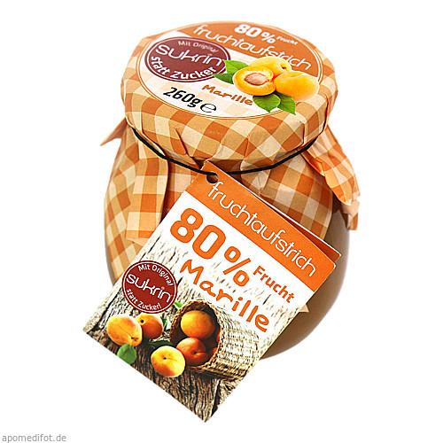 SUKRIN Fruchtaufstrich Marille 80%, 260 G, Habitum Pharma