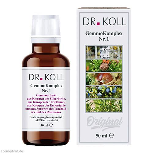 GemmoKomplex Nr. 1, 50 ML, Dr. Koll Biopharm GmbH