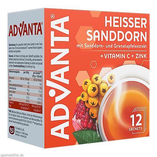 ADVANTA Heißer Sanddorn, 12X10 G, TSI Consumer Goods GmbH