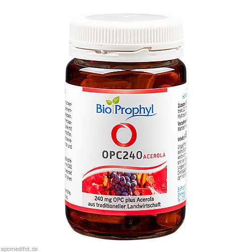 OPC240 plus Acerola - 240mg reines OPC, 60 ST, Bioprophyl GmbH