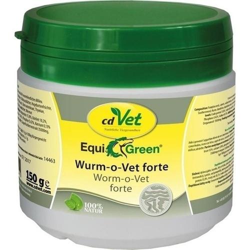 EquiGreen Wurm-o-Vet forte, 150 G, cd Vet Naturprodukte GmbH