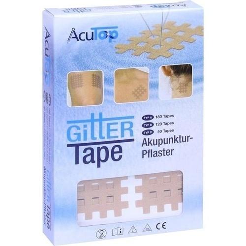 Gitter Tape Acutop 3x4cm, 20X6 ST, Römer-Pharma GmbH