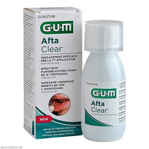 GUM Afta Clear Mundspülung, 120 ML, Sunstar Deutschland GmbH