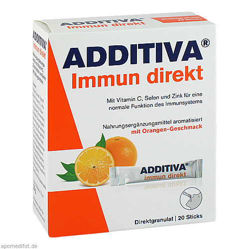 Additiva Immun Direkt Sticks, 20 ST, Dr.B.Scheffler Nachf. GmbH & Co. KG