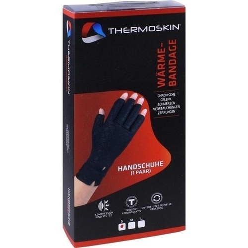 Thermoskin Wärmebandage Handschuh S, 2 ST, Eb Vertriebs GmbH