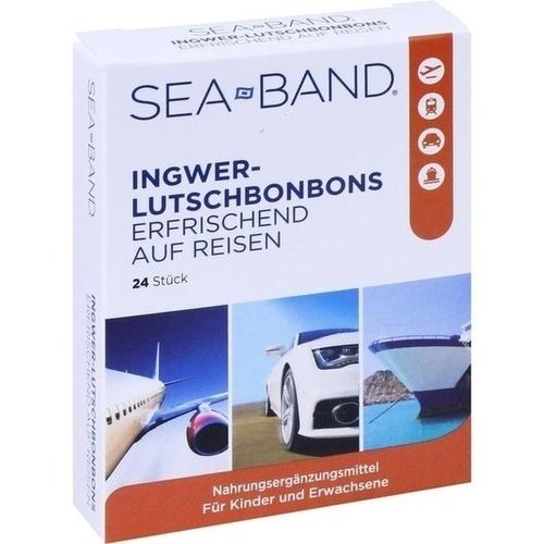SEA-BAND Ingwer-Lutschbonbons, 24 ST, Eb Vertriebs GmbH