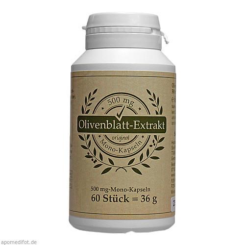 Olivenblattextrakt 500mg Mono-Kapseln, 60 ST, Sinoplasan AG