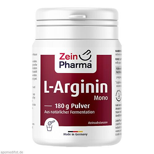 L-Arginin Mono Pulver, 180 G, Zein Pharma - Germany GmbH
