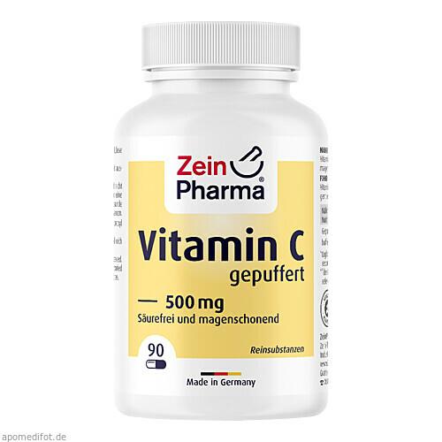 Vitamin C gepuffert, 90 ST, Zein Pharma - Germany GmbH