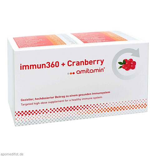 amitamin immun360 + Cranberry, 120 ST, Active Bio Life Science GmbH