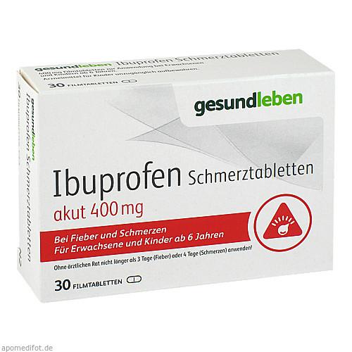Ibuprofen 400 Schmerztabletten, 30 ST, Gehe Pharma Handel GmbH