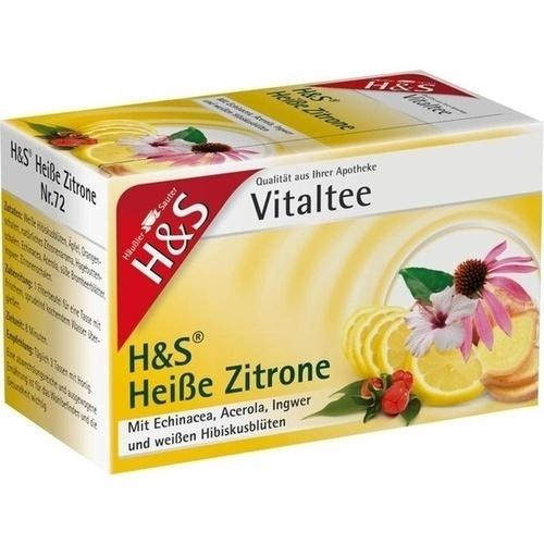 H&S Heiße Zitrone Vitaltee, 20X2.0 G, H&S Tee - Gesellschaft mbH & Co.