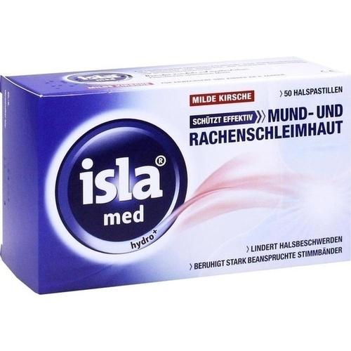 ISLA MED hydro+ Milde Kirsche Pastillen, 50 ST, Engelhard Arzneimittel GmbH & Co.KG