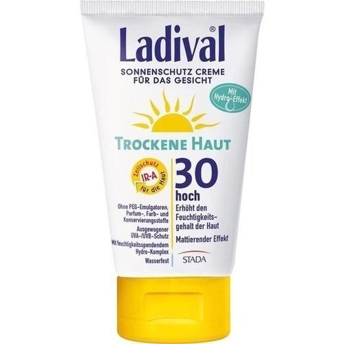 LADIVAL trockene Haut Creme f.d.Gesicht LSF 30, 75 ML, STADA GmbH