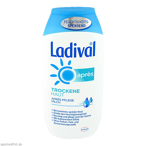 Ladival Trockene Haut Apres Pflege Milch, 200 ML, STADA GmbH