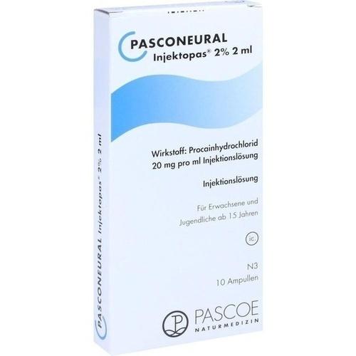 Pasconeural Injektopas 2 % 2 ml, 10 ST, Pascoe Pharmazeutische Präparate GmbH