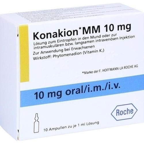 Konakion MM 10 mg Lösung, 10 ST, Emra-Med Arzneimittel GmbH