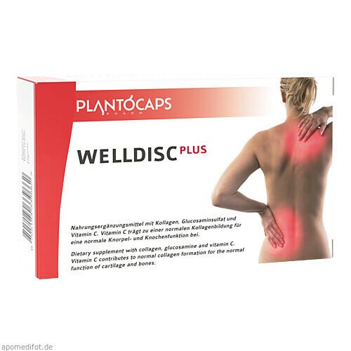 plantoCAPS WELLDISC PLUS, 60 ST, plantoCAPS pharm GmbH
