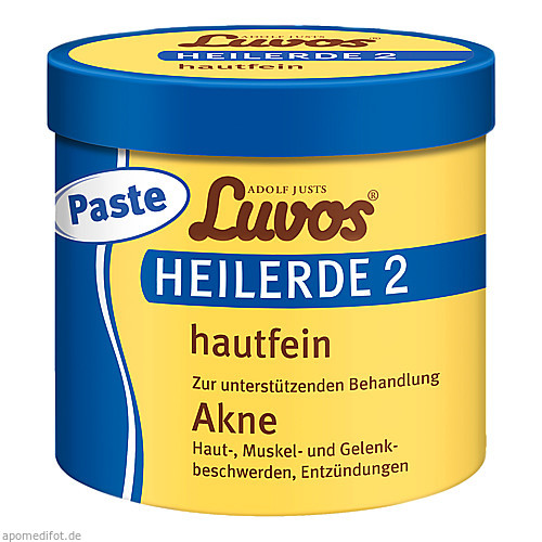 Luvos Heilerde 2 hautfein - PASTE, 720 G, Heilerde-Gesellschaft Luvos Just GmbH & Co. KG