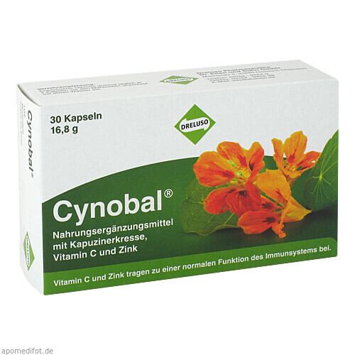 Cynobal, 30 ST, Dreluso-Pharmazeutika Dr.Elten & Sohn GmbH
