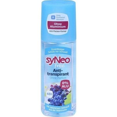 syNeo free 48h Antitranspirant Roll-On, 75 ML, Drschka Trading