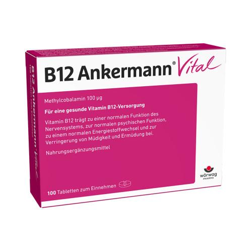 B12 Ankermann Vital, 100 ST, Wörwag Pharma GmbH & Co. KG