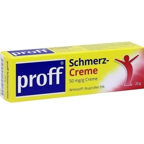 proff Schmerzcreme, 20 G, Dr. Theiss Naturwaren GmbH