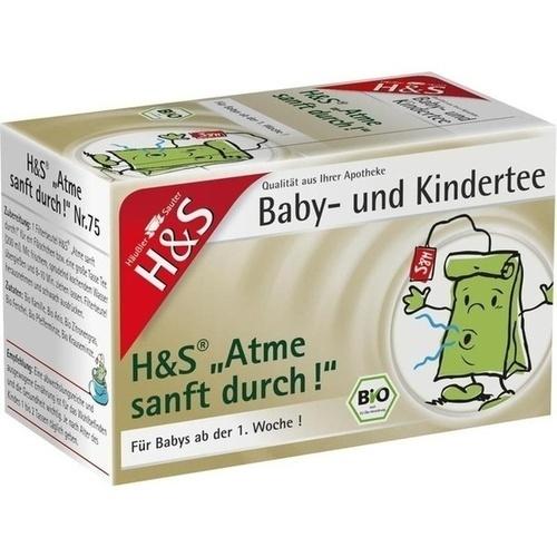 H&S Bio Atme sanft durch Baby- und Kindertee, 20X1.2 G, H&S Tee - Gesellschaft mbH & Co.
