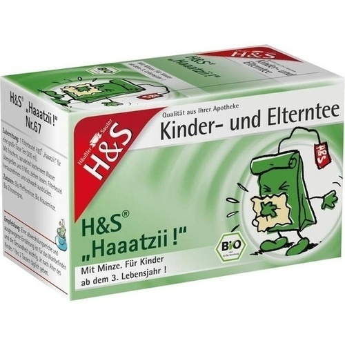 H&S Bio Haaatzii Kinder- und Elterntee, 20X1.5 G, H&S Tee - Gesellschaft mbH & Co.