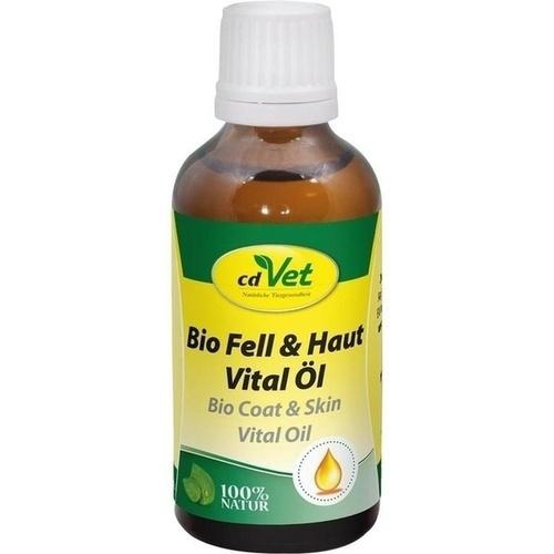 Bio Fell & Haut Vital Öl vet, 50 ML, cdVet Naturprodukte GmbH