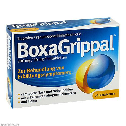 BOXAGRIPPAL 200 mg/30 mg Filmtabletten, 10 ST, Sanofi-Aventis Deutschland GmbH GB Selbs
