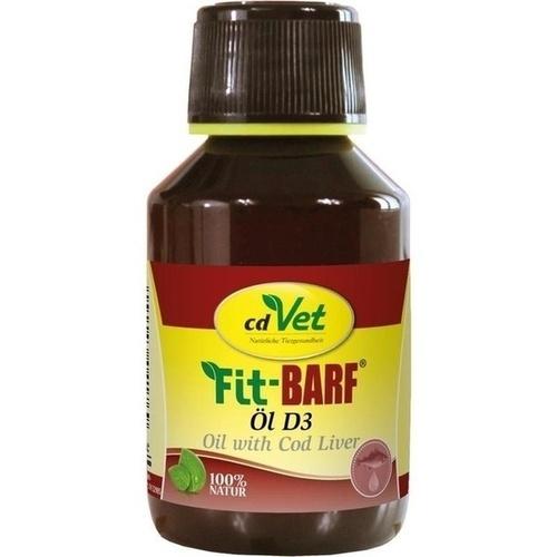 Fit-BARF Öl D3, 100 ML, cd Vet Naturprodukte GmbH