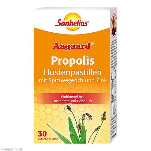 Sanhelios Aagaard Husten-Pastillen mit Propolis, 30 ST, Börner GmbH