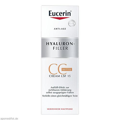 Eucerin Anti-Age Hyaluron-Filler CC Cream mittel, 50 ML, Beiersdorf AG Eucerin