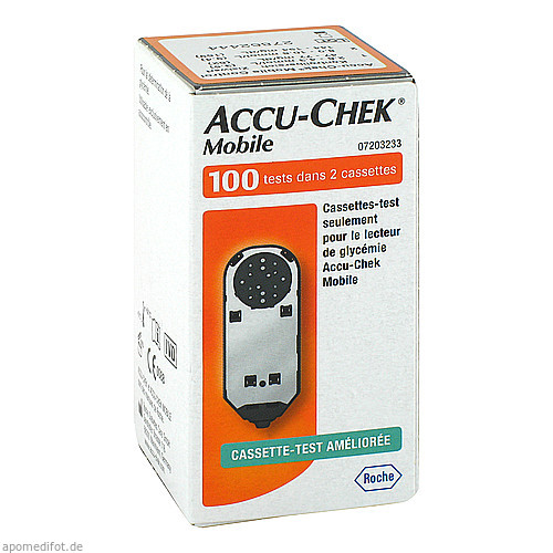 ACCU CHEK Mobile Testkassette, 100 ST, Medi-Spezial GmbH