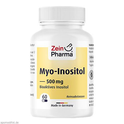 Myo-Inositol, 60 ST, Zein Pharma - Germany GmbH