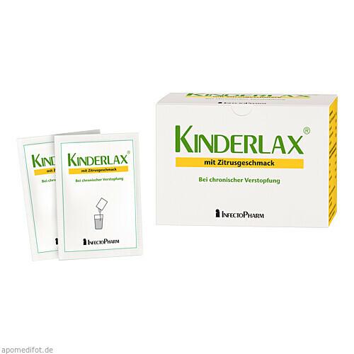 Kinderlax mit Zitrusgeschmack, 30 ST, Infectopharm Arzn.U.Consilium GmbH