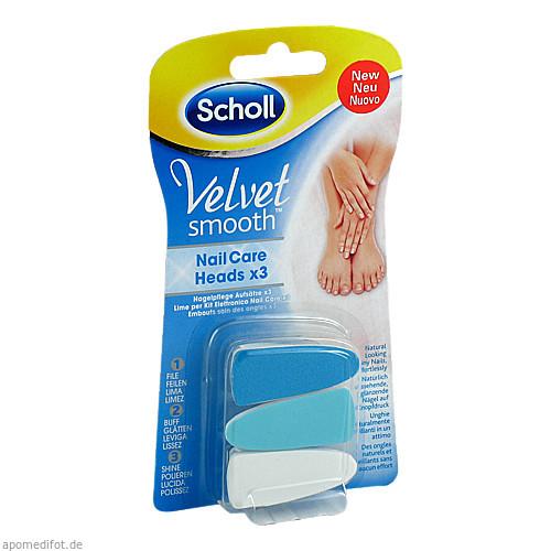 Scholl Velvet Smooth Nagelpflege Aufsätze, 1 ST, Reckitt Benckiser Deutschland GmbH